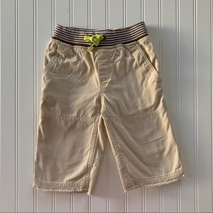 Mini Boden Washed Canvas Shorts